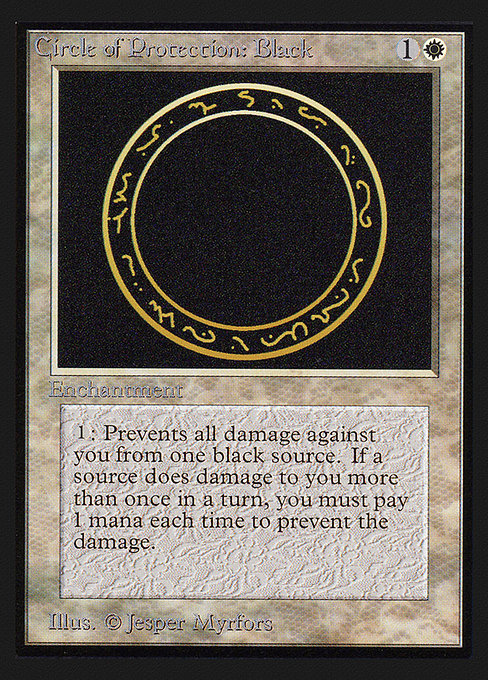 Circle of Protection: Black (CED)