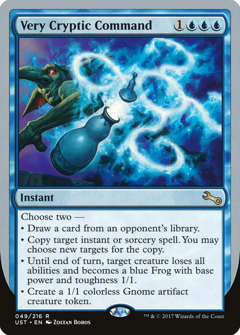 Very Cryptic Command (UST)