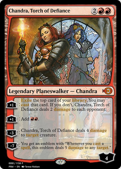 Chandra, Torch of Defiance (PRM)