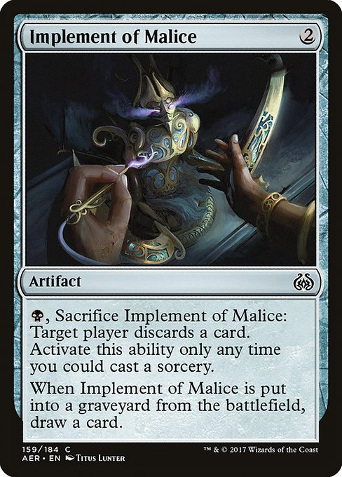 Implement of Malice (AER)