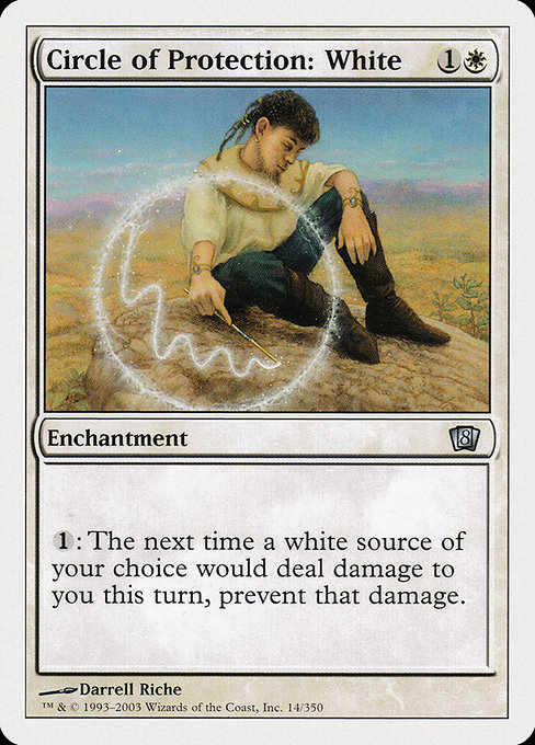 Circle of Protection: White (8ED)