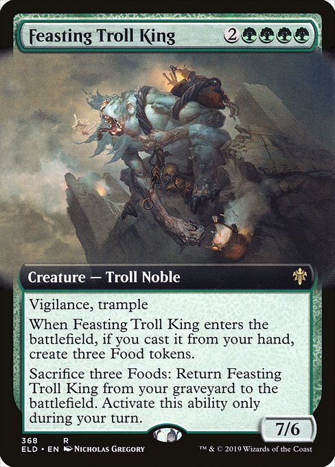 Feasting Troll King (ELD)