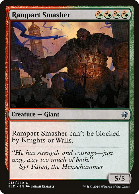 Rampart Smasher (ELD)