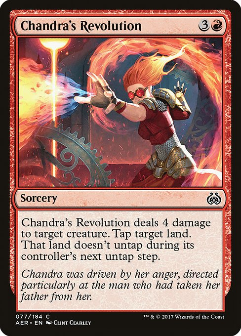 Chandra's Revolution (AER)