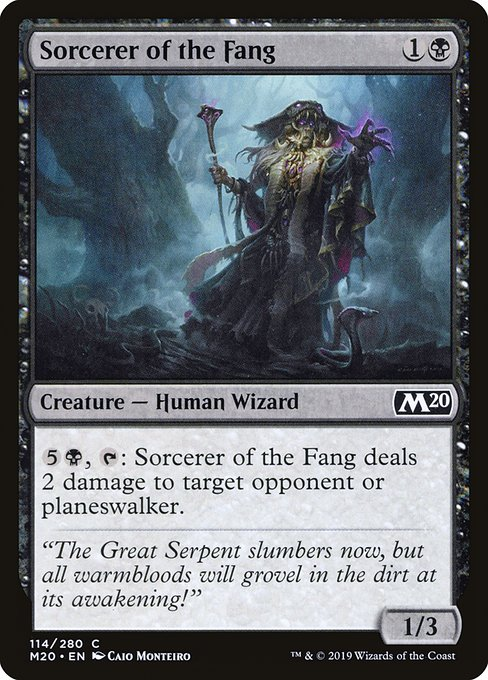 Sorcerer of the Fang (M20)