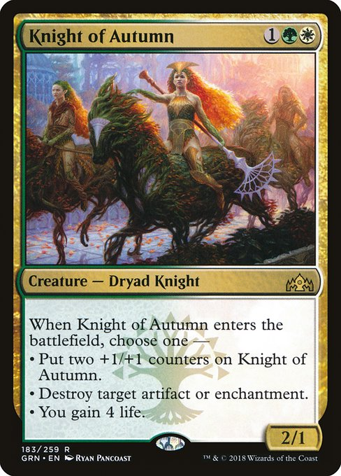 Knight of Autumn (GRN)