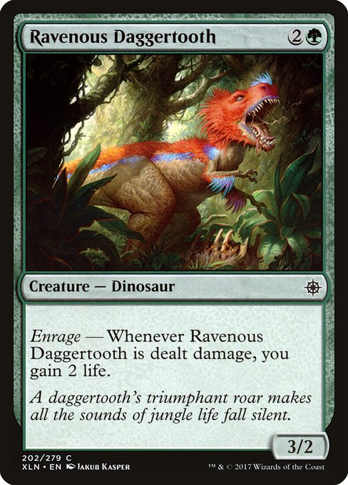Ravenous Daggertooth (XLN)