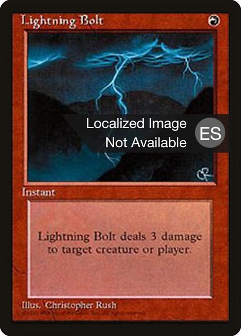 Lightning Bolt (4BB)