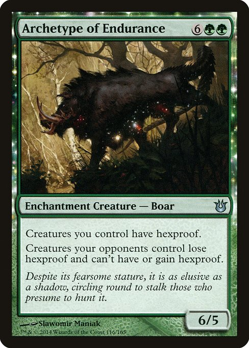 Archetype of Endurance (BNG)