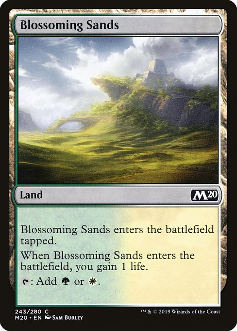 Blossoming Sands (M20)