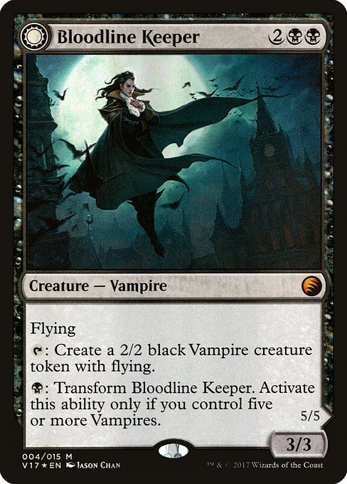 Bloodline Keeper // Lord of Lineage (V17)