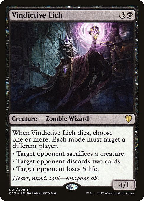 Vindictive Lich (C17)