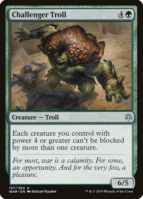 Challenger Troll - Magic: the Gathering