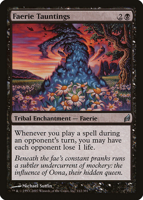 Faerie Tauntings (LRW)