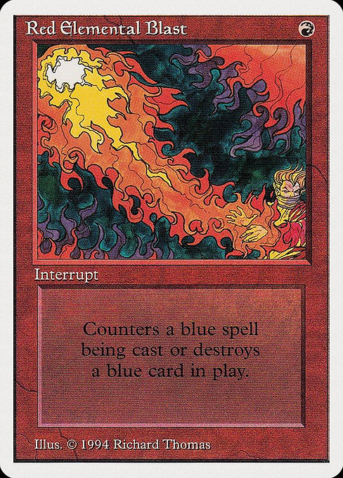 Red Elemental Blast (SUM)