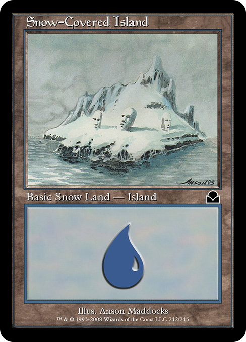 Snow-Covered Island (ME2)