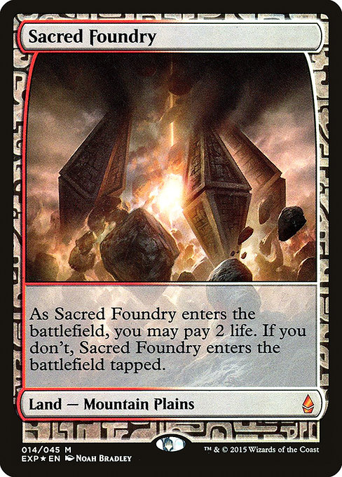 Sacred Foundry (EXP)