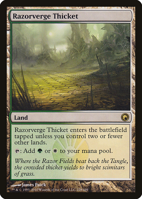 Razorverge Thicket (SOM)
