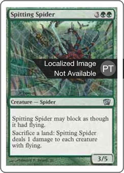 Spitting Spider (8ED)