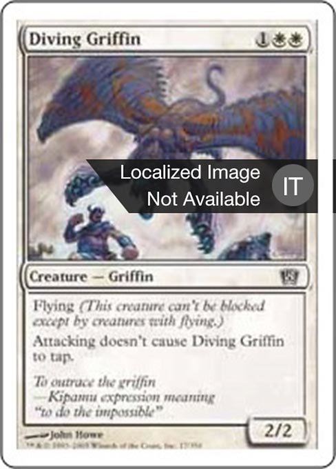 Diving Griffin (8ED)