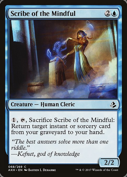 Scribe of the Mindful (AKH)