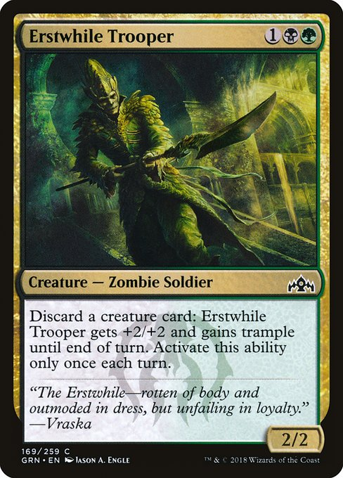 Erstwhile Trooper (GRN)
