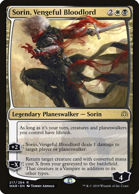 Sorin, Vengeful Bloodlord - Magic: the Gathering
