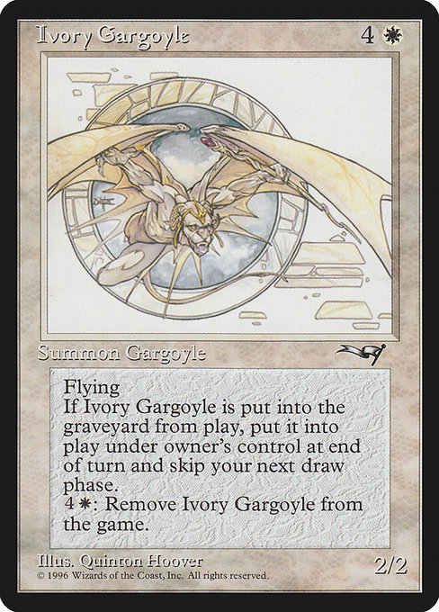 Ivory Gargoyle (ALL)