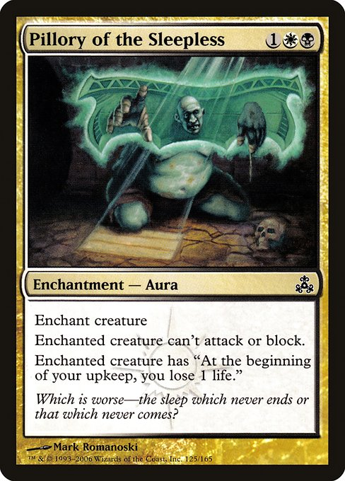 Pillory of the Sleepless (GPT)