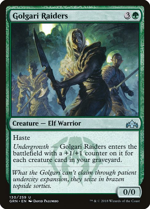 Golgari Raiders (GRN)