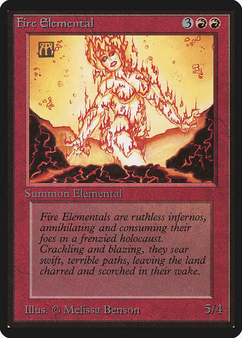 Fire Elemental (LEB)