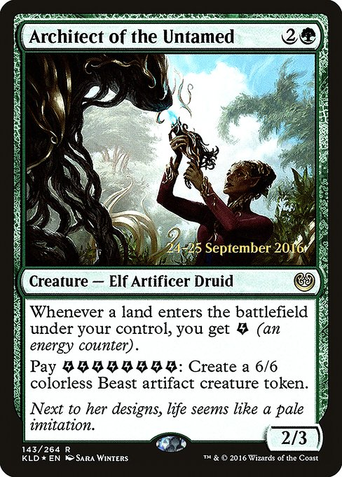 Architect of the Untamed (PKLD)