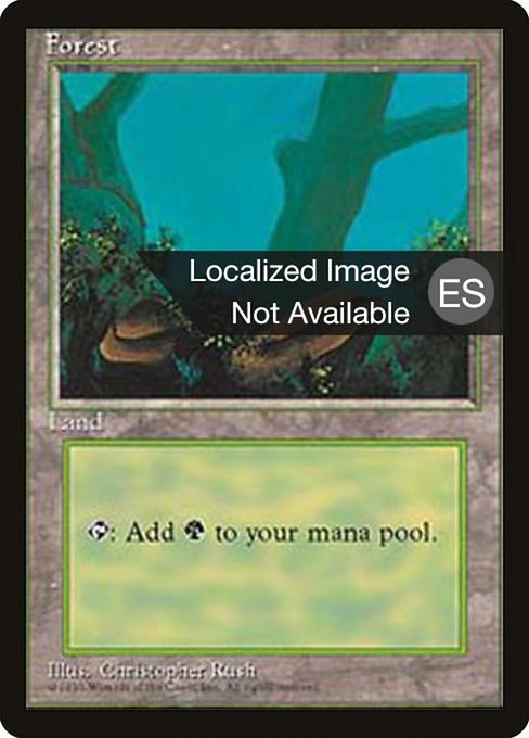 Forest - Fourth Edition Foreign Black Border