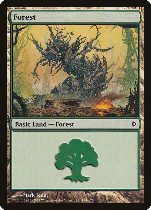 Forest - New Phyrexia