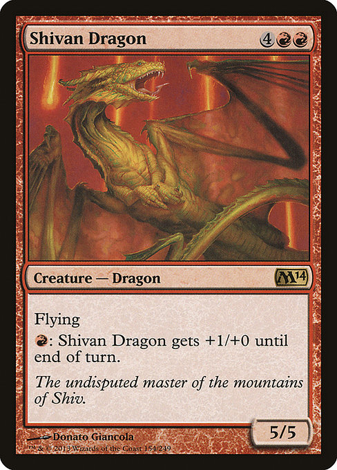 Shivan Dragon (M14)