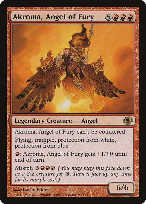 Akroma, Angel of Fury (PLC)