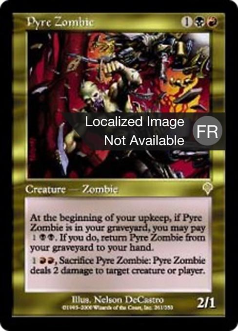 Pyre Zombie (INV)