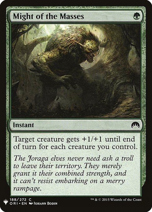 Might of the Masses (MB1)