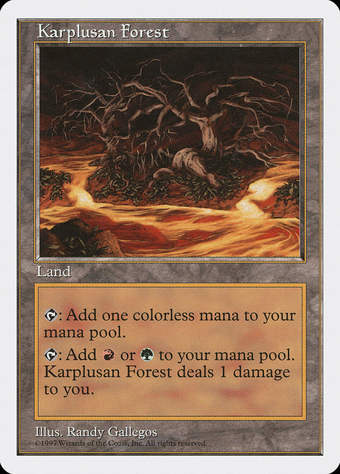 Karplusan Forest (5ED)