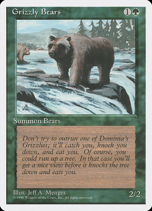 Grizzly Bears (4ED)