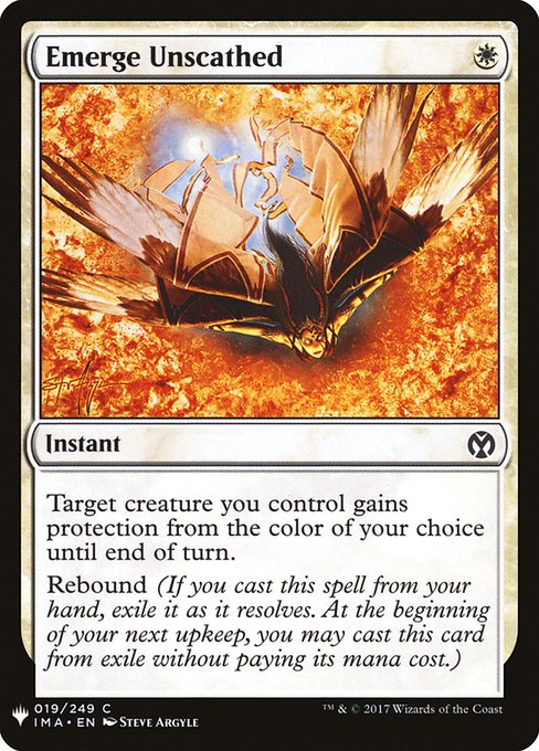Emerge Unscathed (MB1)