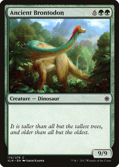 Ancient Brontodon (XLN)