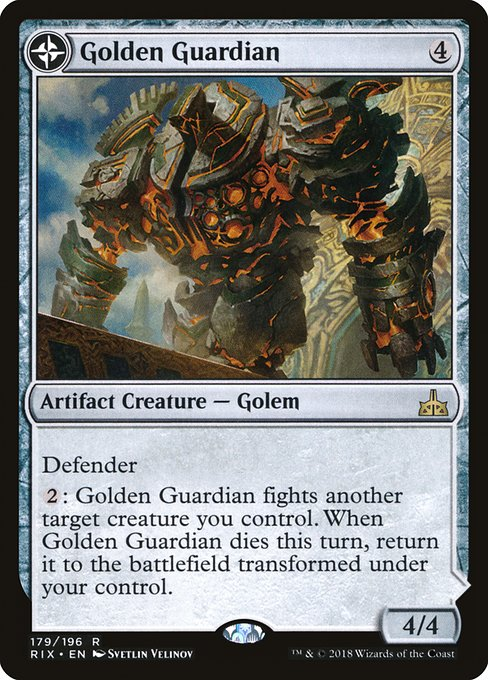 Golden Guardian // Gold-Forge Garrison (RIX)