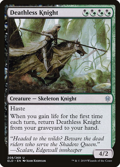 Deathless Knight (ELD)