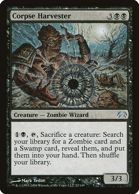 Zombie Tribal Edhrec Land 4 concealed courtyard 4 isolated chapel 7. zombie tribal edhrec