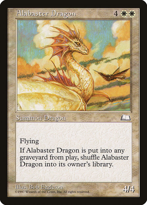 Alabaster Dragon (WTH)