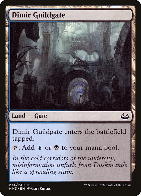 Dimir Guildgate (MM3)