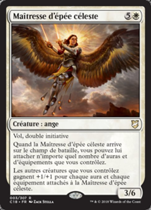 Heavenly Blademaster (C18)