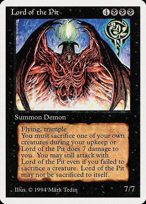 Lord of the Pit (SUM)