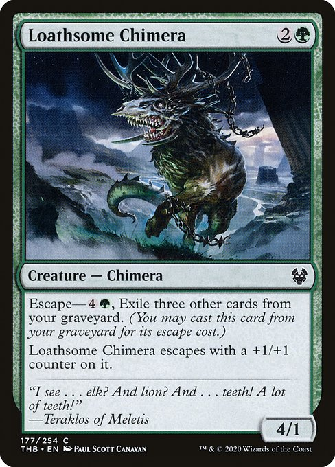 Loathsome Chimera (THB)